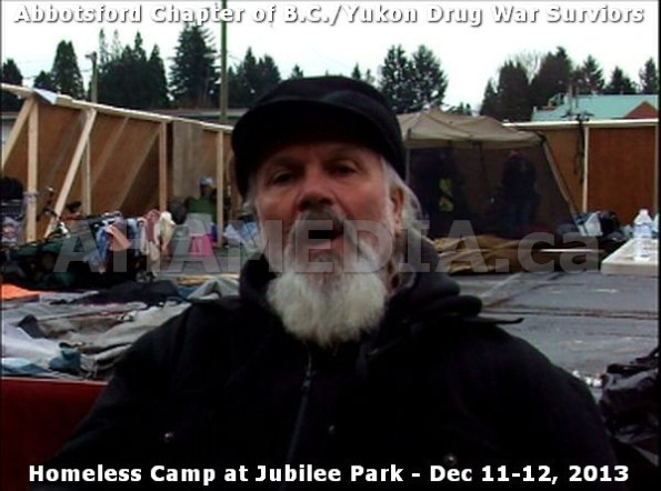 4  AHA MEDIA at BC Yukon Drug War Survivors Homeless Standoff in Jubilee Park, Abbotsford, B.C.