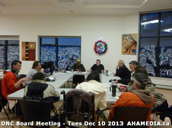 4 AHA MEDIA at DNC Board Meeting - Tues Dec 10 2013