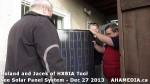 4 AHA MEDIA sees Roland Clarke and Jacek Lorek with Solar Panel system