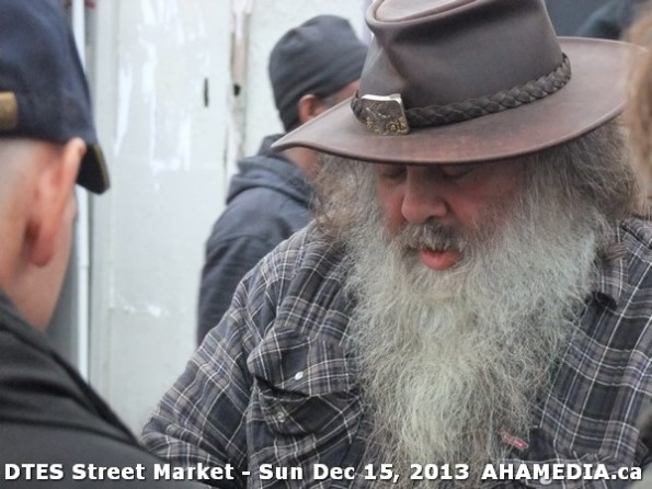 40 AHA MEDIA at DTES Street Market in Vancouver - Sun Dec 15, 2013