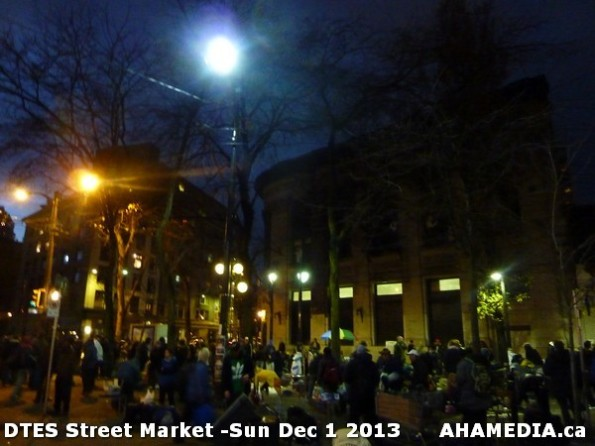 41 AHA MEDIA at DTES Street Market - Sun Dec1 2013
