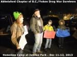 424 AHA MEDIA at BC Yukon Drug War Survivors Homeless Standoff in Jubilee Park, Abbotsford, B.C.