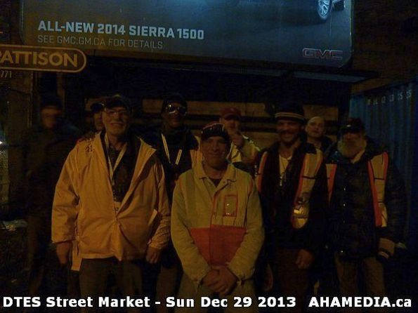 45 AHA MEDIA  sees DTES Street Market on Sun Dec 29 2013