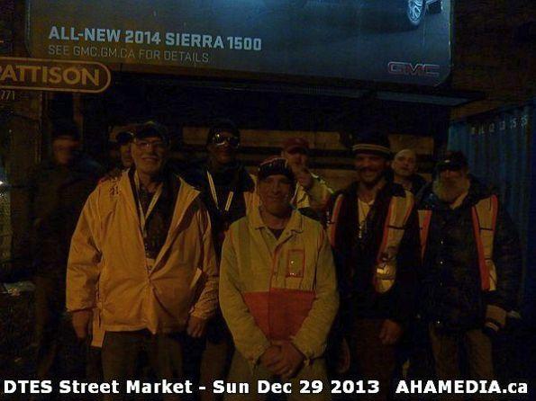 45 AHA MEDIA  sees DTES Street Market on Sun Dec 29 2013