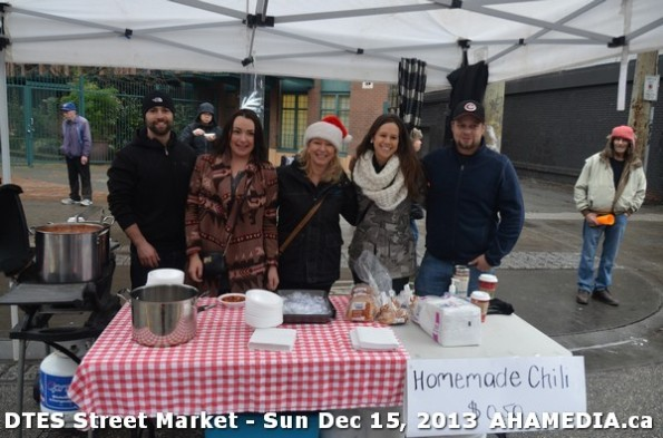 57 AHA MEDIA at DTES Street Market in Vancouver - Sun Dec 15, 2013