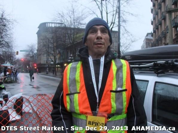 58 AHA MEDIA at DTES Street Market on Sun Dec 29, 2013 in Vancouver DTES