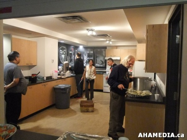 59 AHA MEDIA sees Anything but XMAS Community Dinner in Vancouver DTES