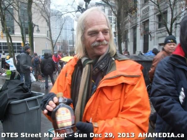 61 AHA MEDIA at DTES Street Market on Sun Dec 29, 2013 in Vancouver DTES