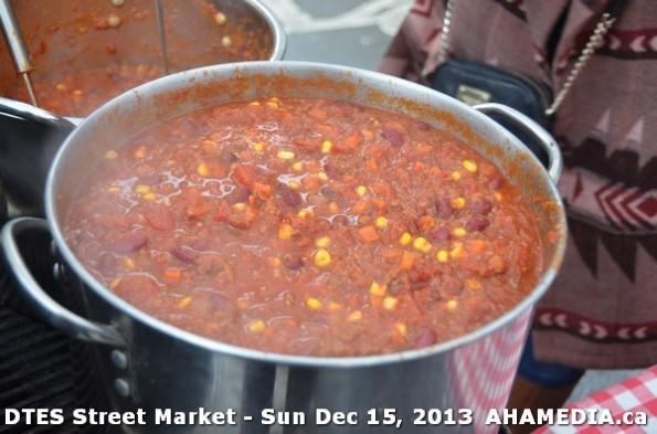 65 AHA MEDIA at DTES Street Market in Vancouver - Sun Dec 15, 2013