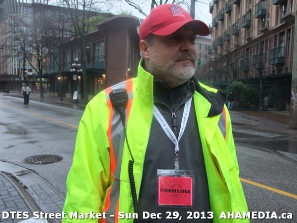 69 AHA MEDIA at DTES Street Market on Sun Dec 29, 2013 in Vancouver DTES
