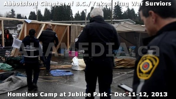 7  AHA MEDIA at BC Yukon Drug War Survivors Homeless Standoff in Jubilee Park, Abbotsford, B.C.