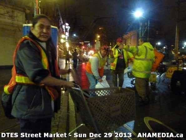 70 AHA MEDIA  sees DTES Street Market on Sun Dec 29 2013