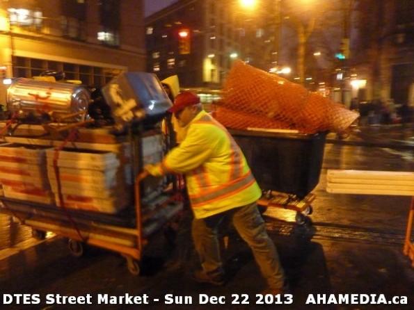 7b 43 AHA MEDIA at DTES Street Market Sun Dec 22 2013