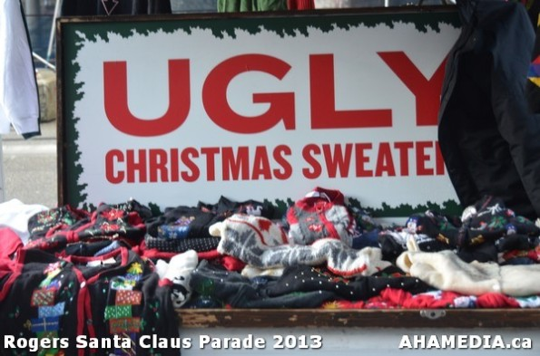 8 AHA MEDIA at 10th Annual Rogers Santa Claus Parde in Vancouver 2013
