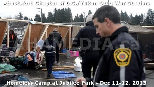 8  AHA MEDIA at BC Yukon Drug War Survivors Homeless Standoff in Jubilee Park, Abbotsford, B.C.