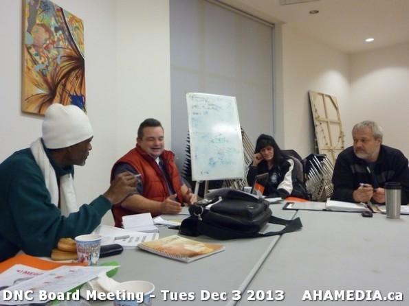 8 AHA MEDIA at  DNC Board Meeting - Tues Dec 3 2013