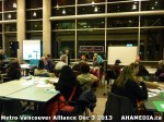 8 AHA MEDIA at Metro Alliance Vancouver meeting - Tues Dec 3 2013