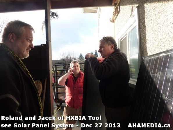 9 AHA MEDIA sees Roland Clarke and Jacek Lorek with Solar Panel system
