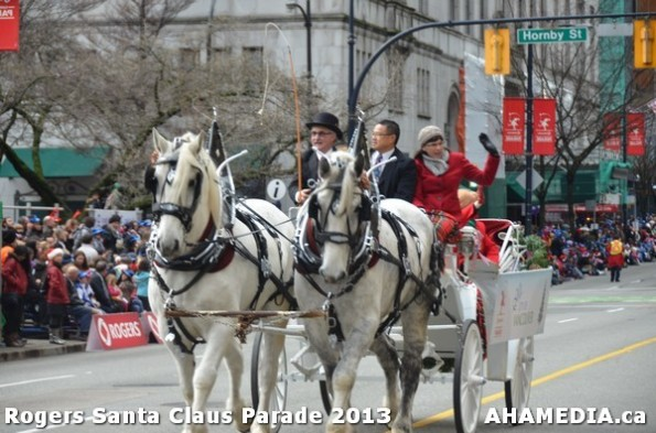 92 AHA MEDIA at 10th Annual Rogers Santa Claus Parde in Vancouver 2013