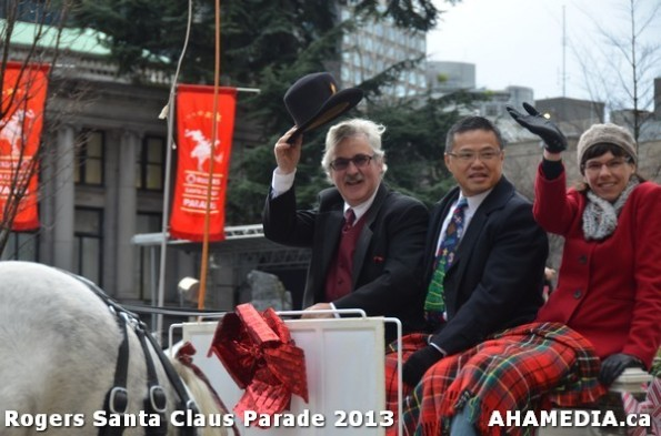 94 AHA MEDIA at 10th Annual Rogers Santa Claus Parde in Vancouver 2013
