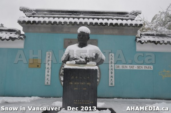 95 AHA MEDIA sees Snowfall in Vancouver Dec 2013