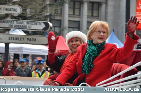 96 AHA MEDIA at 10th Annual Rogers Santa Claus Parde in Vancouver 2013