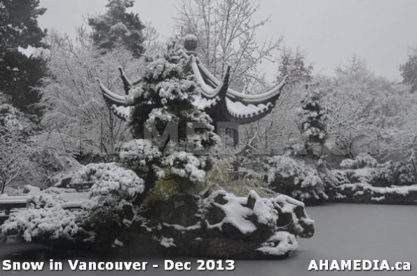 99 AHA MEDIA sees Snowfall in Vancouver Dec 2013