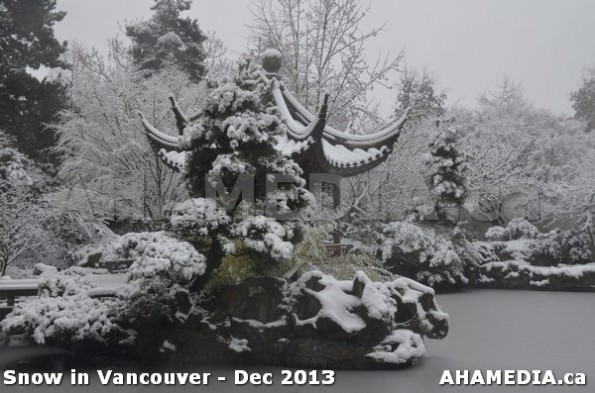 99 AHA MEDIA sees Snowfall in Vancouver Dec 2013