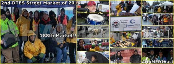 1 AHA MEDIA sees DTES Street Market on Sun Jan 12, 2014 cover with aha media