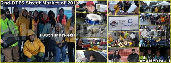 1 AHA MEDIA sees DTES Street Market on Sun Jan 12, 2014 cover with aha media