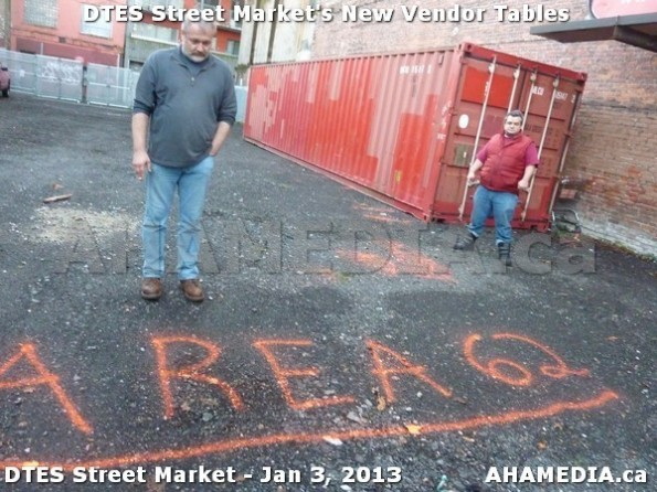 101 AHA MEDIA sees DTES Street Market new vendor tables in Vancouver on Jan 3, 2013