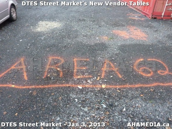 108 AHA MEDIA sees DTES Street Market new vendor tables in Vancouver on Jan 3, 2013