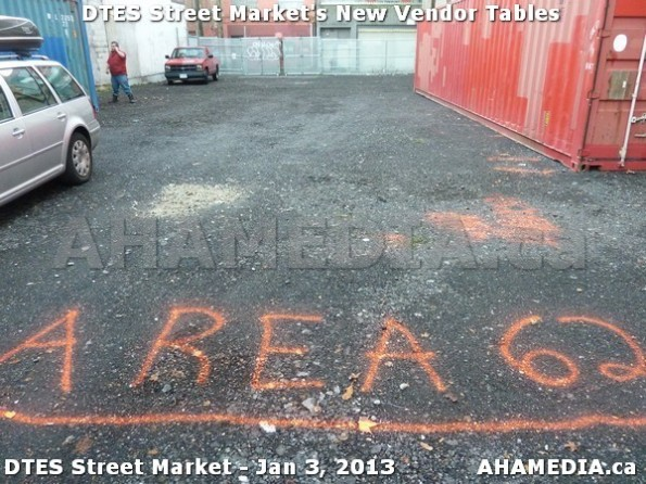 109 AHA MEDIA sees DTES Street Market new vendor tables in Vancouver on Jan 3, 2013