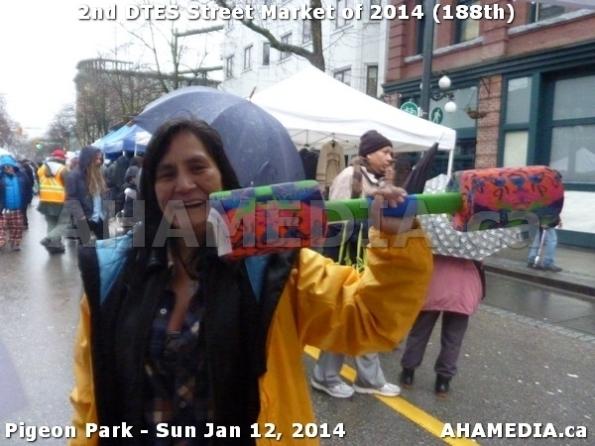 109 AHA MEDIA sees DTES Street Market on Sun Jan 12, 2014