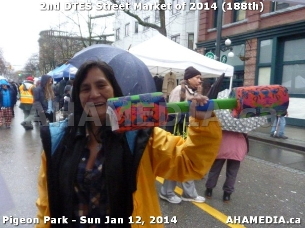 109 AHA MEDIA sees DTES Street Market on Sun Jan 12, 2014