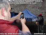12 AHA MEDIA sees DTES Street Market place Sponsorship by Central City Foundation on Tents