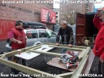 132 AHA MEDIA sees HXBIA Tool test fit solar panel mount on New Year Day Jan 1, 2014