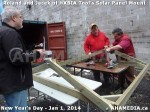 141 AHA MEDIA sees HXBIA Tool test fit solar panel mount on New Year Day Jan 1, 2014