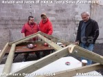 145 AHA MEDIA sees HXBIA Tool test fit solar panel mount on New Year Day Jan 1, 2014