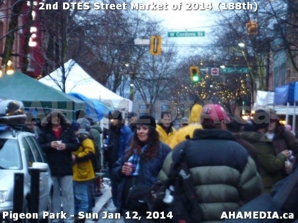 149 AHA MEDIA sees DTES Street Market on Sun Jan 12, 2014