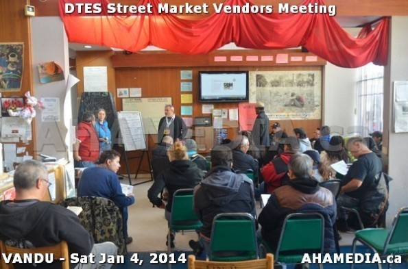 19 AHA MEDIA sees DTES Street Market Vendor Meeting on Sat Jan 4, 2014 in Vancouver