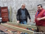 2 AHA MEDIA sees HXBIA Tool test fit solar panel mount on New Year Day Jan 1, 2014