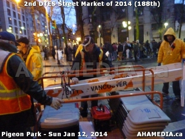222 AHA MEDIA sees DTES Street Market on Sun Jan 12, 2014