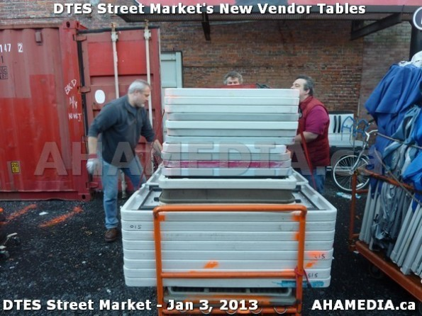 39 AHA MEDIA sees DTES Street Market new vendor tables in Vancouver on Jan 3, 2013