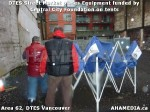 4 AHA MEDIA sees DTES Street Market place Sponsorship by Central City Foundation on Tents