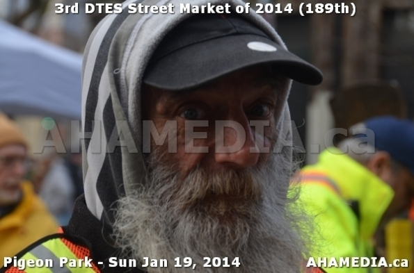60 AHA MEDIA sees DTES Street Market on Sun Jan 19, 2014