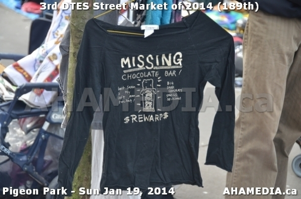 69 AHA MEDIA sees DTES Street Market on Sun Jan 19, 2014