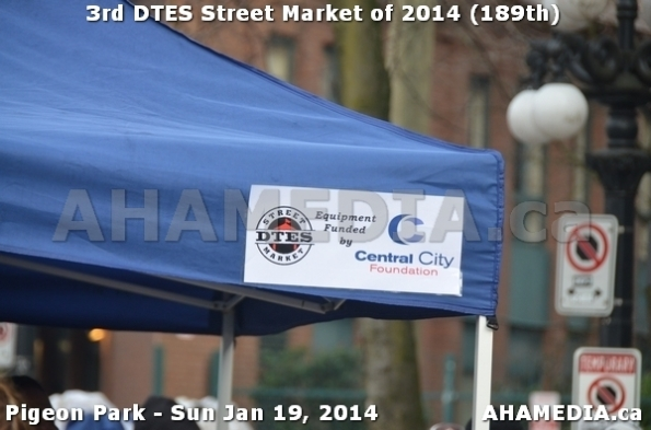 74 AHA MEDIA sees DTES Street Market on Sun Jan 19, 2014