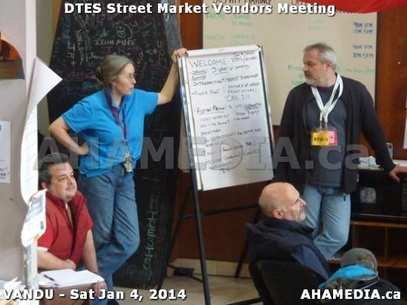 82 AHA MEDIA sees DTES Street Market Vendor Meeting on Sat Jan 4, 2014 in Vancouver