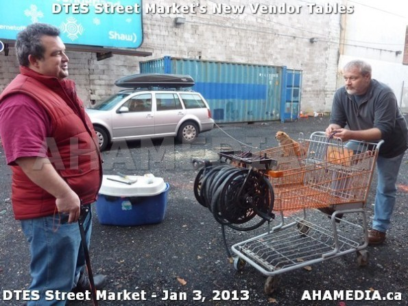83 AHA MEDIA sees DTES Street Market new vendor tables in Vancouver on Jan 3, 2013